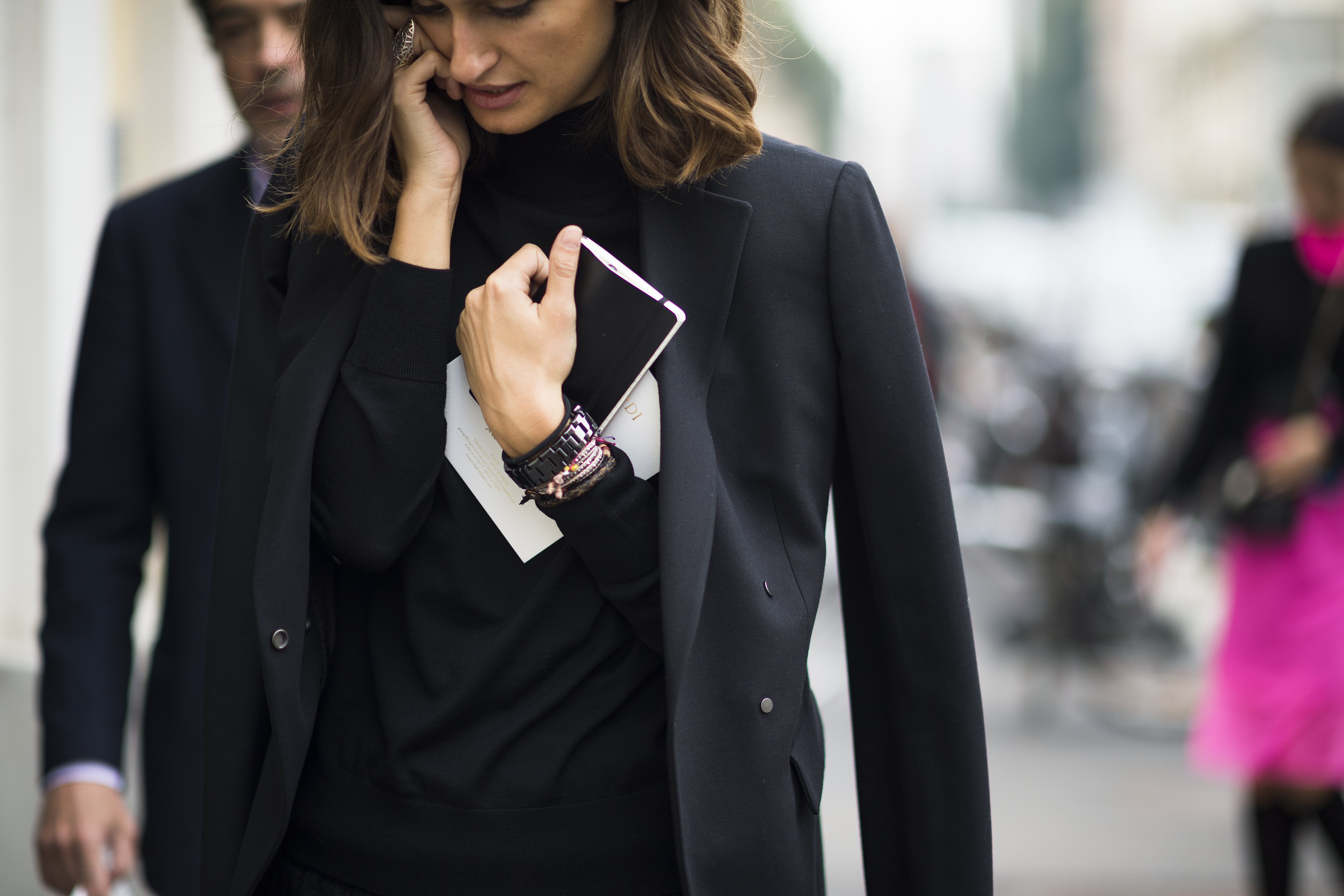 Photo: Isabelle Kountoure by street style photographer Adam Katz Sinding