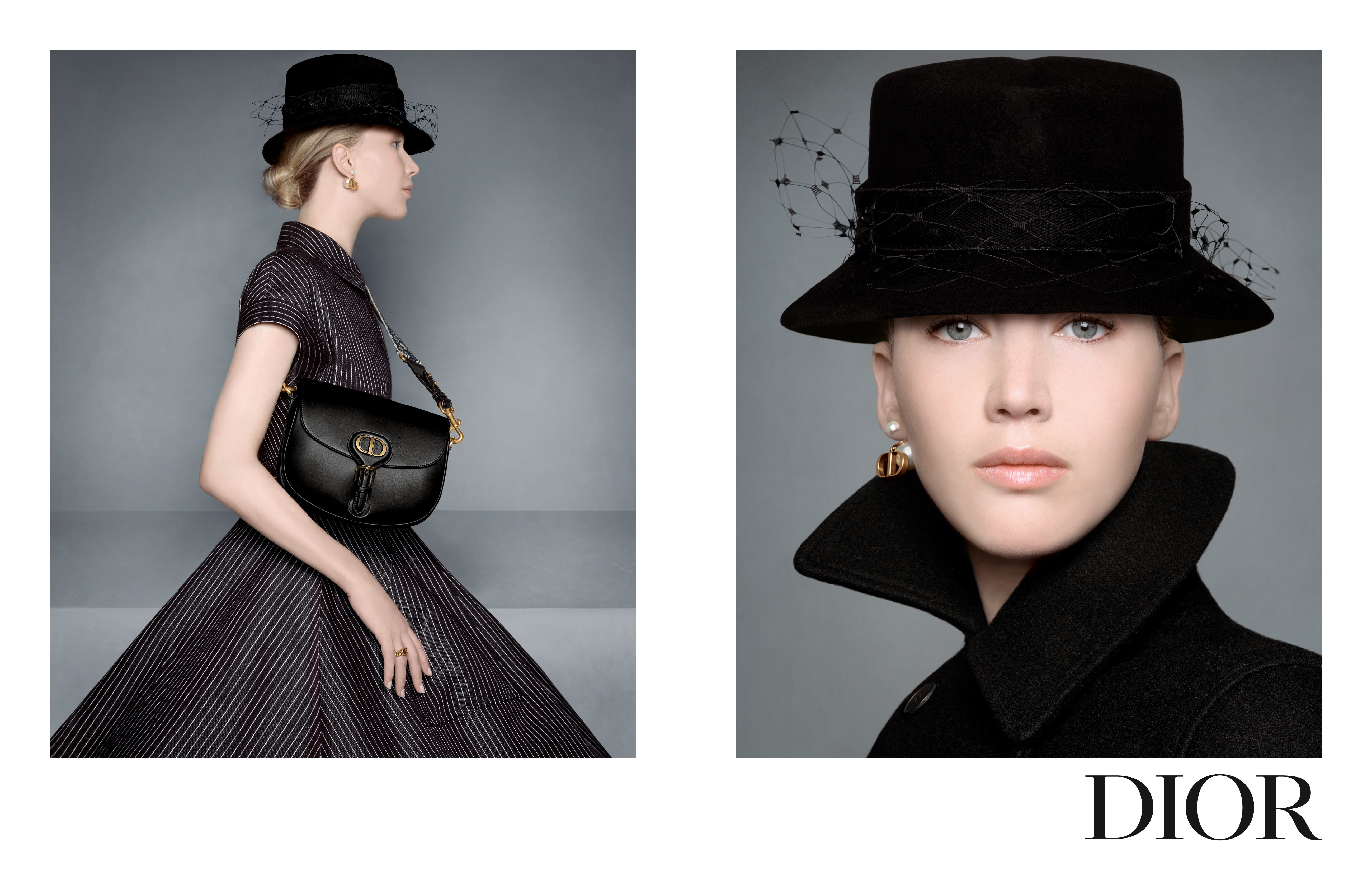 Jennifer Lawrence in the Dior pre-fall campaign. Photographer by Brigitte Niedermair/, Fashion Isabelle Kountoure / Courtesy of Dior