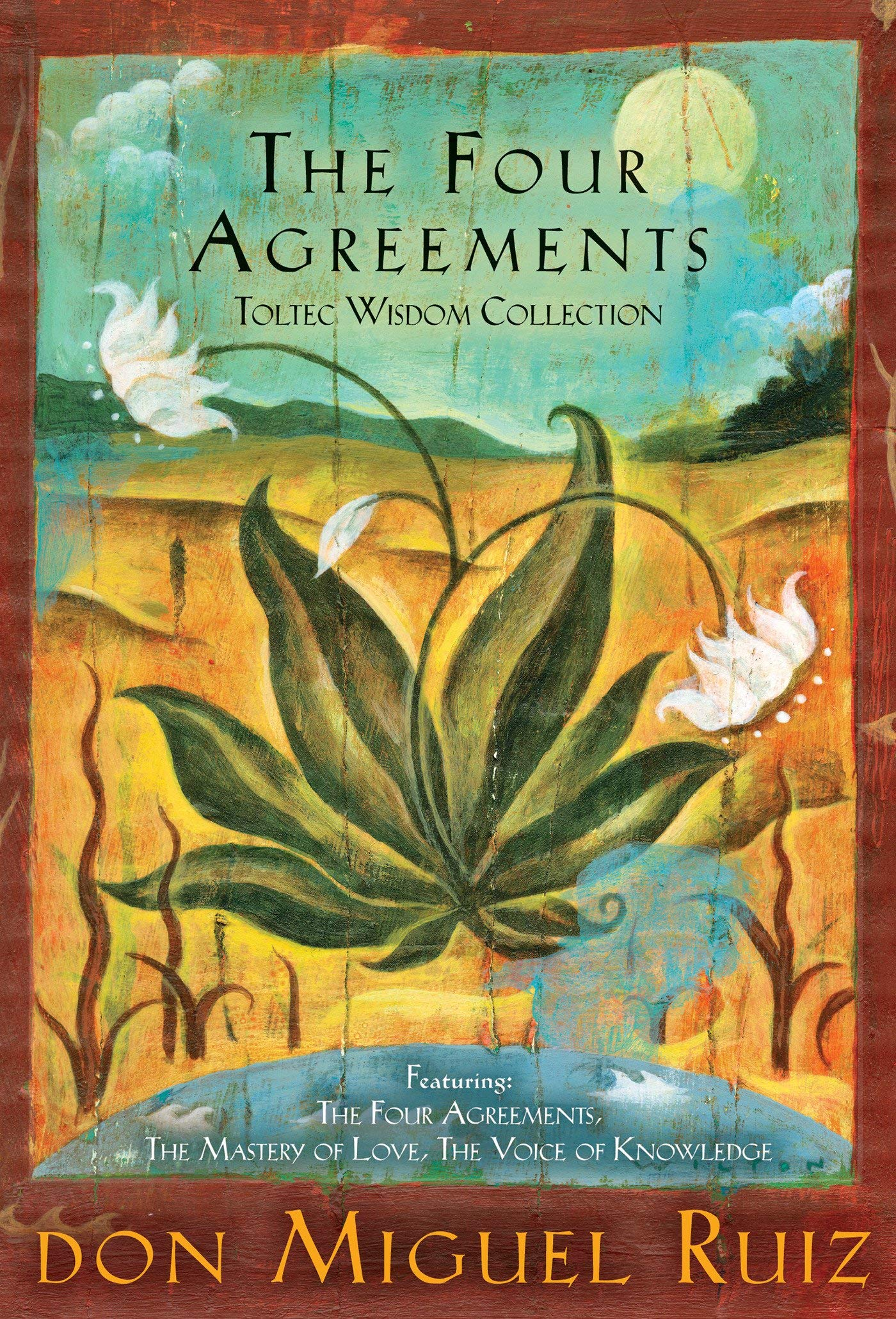 he Four Agreements Toltec Wisdom Collection by Don Miguel Ruiz.