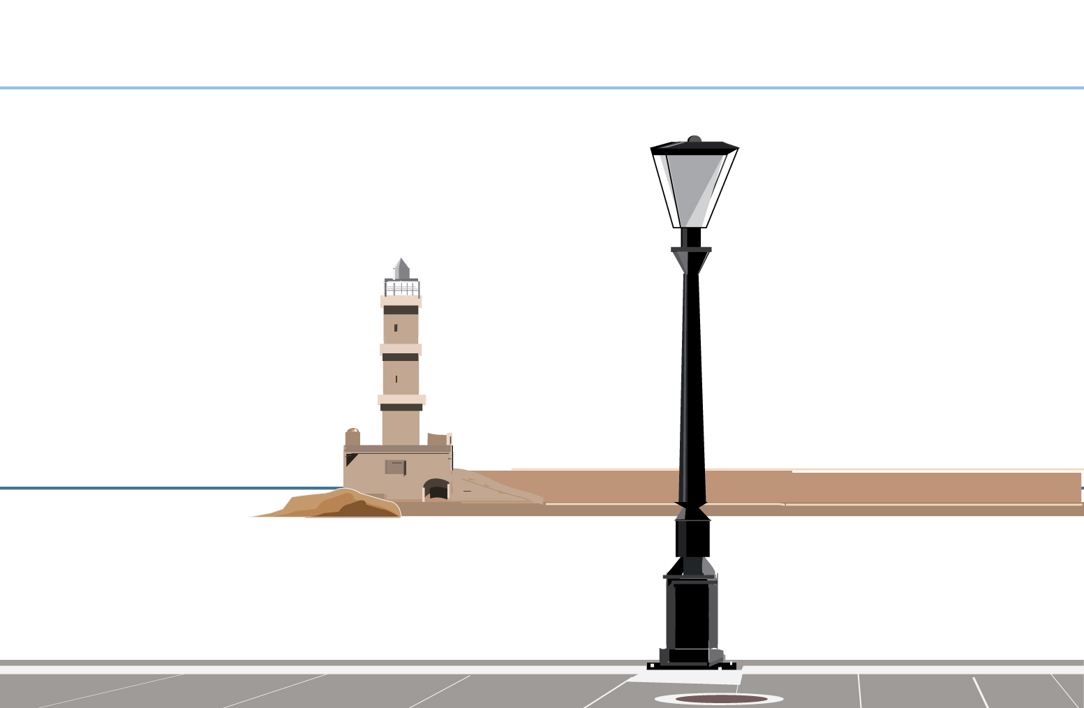 Illustration of Old Port of Chania in Crete*